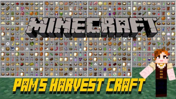 Pams Harvestcraft - новая еда и растения [1.12.2] [1.11.2] [1.10.2] [1.7.10]