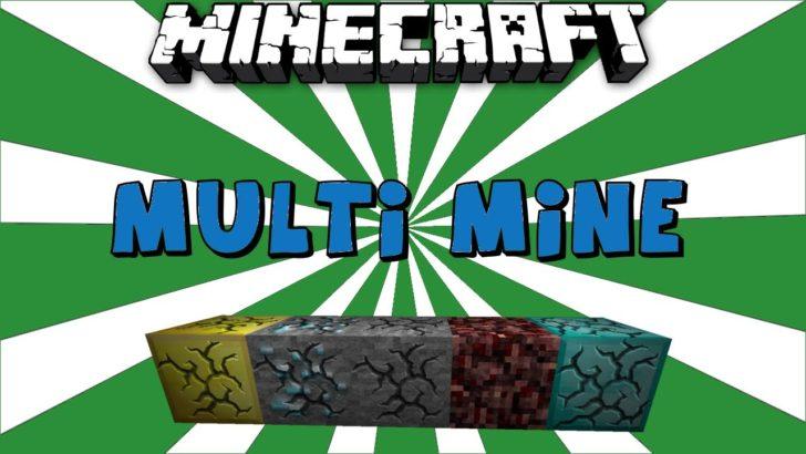 Multi Mine - сохранение прогресса разрушения блока [1.12.2 - 1.7.10]