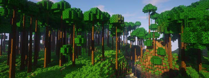 Dynamic Trees - реалистичные деревья [1.12.2] [1.10.2] [1.7.10]