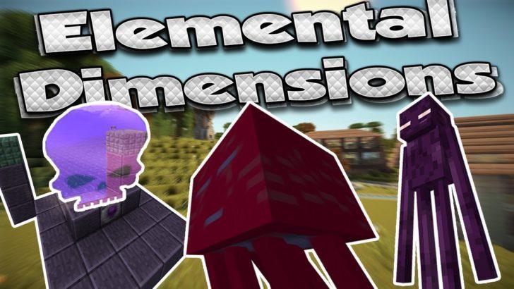 Elemental Dimensions - 5 измерений [1.12.2] [1.11.2] [1.10.2]