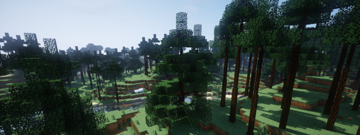 Dynamic Trees - реалистичные деревья [1.12.2] [1.11.2] [1.10.2] [1.7.10]