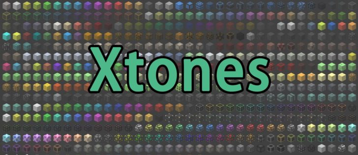 Xtones - декоративные блоки [1.12.2] [1.11.2] [1.10.2]