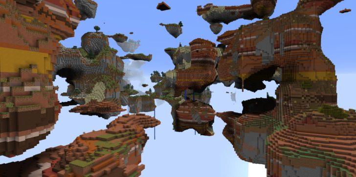 Skylands - летающие острова [1.12.2] [1.11.2] [1.10.2]