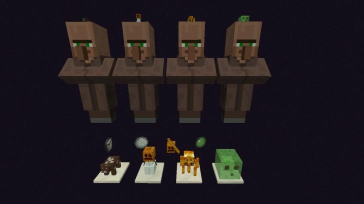 Statues - набор статуй мобов [1.12.2] [1.11.2] [1.10.2]