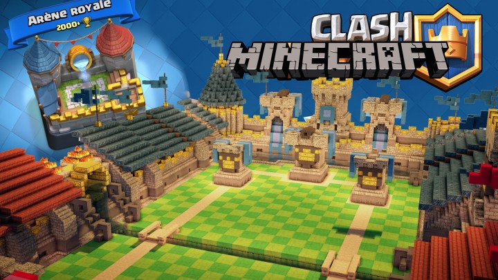 Clash Royale в Minecraft [1.12.2] [1.11.2]