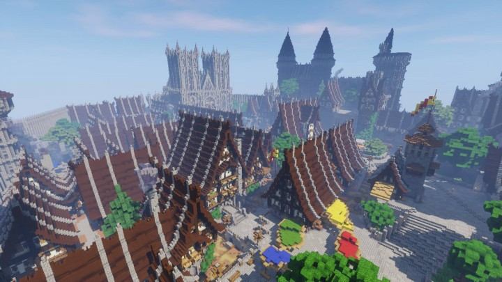 Эпичный средневековый город (Epic Médiéval City) [1.12.2]