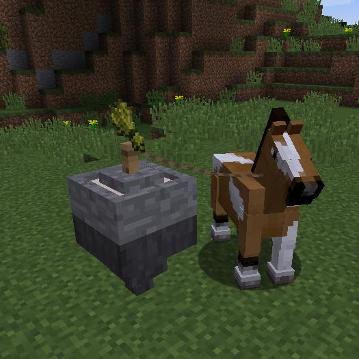 Horse Power  -  механизмы на лошадиной силе [1.12.2] [1.11.2]