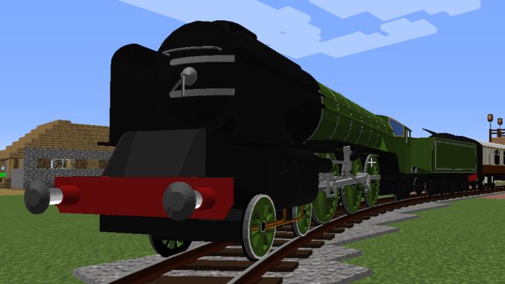 Immersive Railroading - реалистичные поезда [1.12.2]