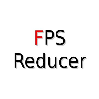 FPS Reducer [1.14.4] [1.13.2] [1.12.2 - 1.10.2] (для слабых пк)