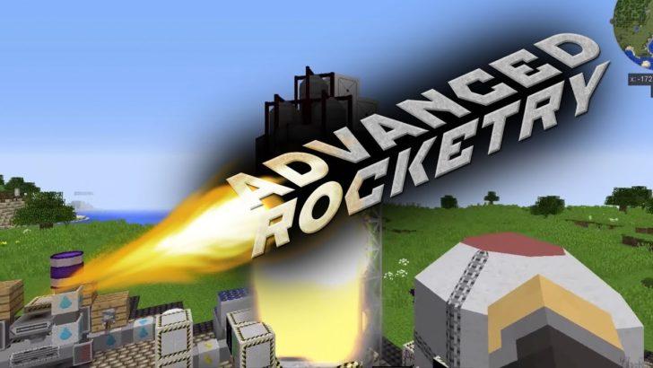 Advanced Rocketry - продвинутые ракеты [1.12.2] [1.11.2] [1.10.2] [1.7.10]