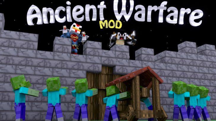 Ancient Warfare - NPCs, фермы и карьеры [1.12.2] [1.7.10]
