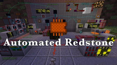 Automated Redstone [1.12.2] [1.11.2] [1.10.2] [1.9.4]