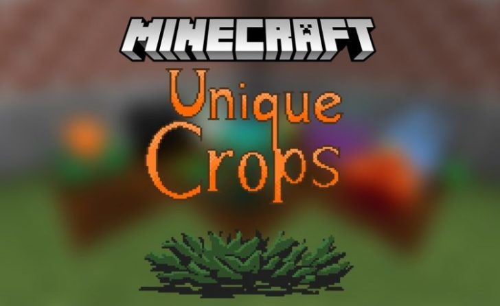 Unique Crops [1.12.2] [1.11.2] [1.10.2]