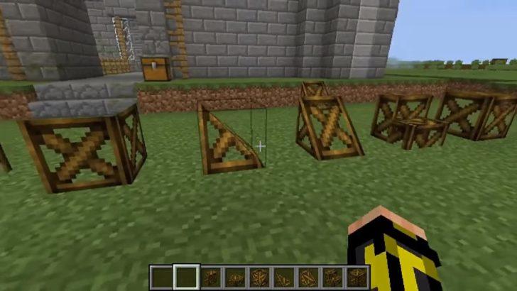 Blockcraftery - набор различных фигур [1.12.2]