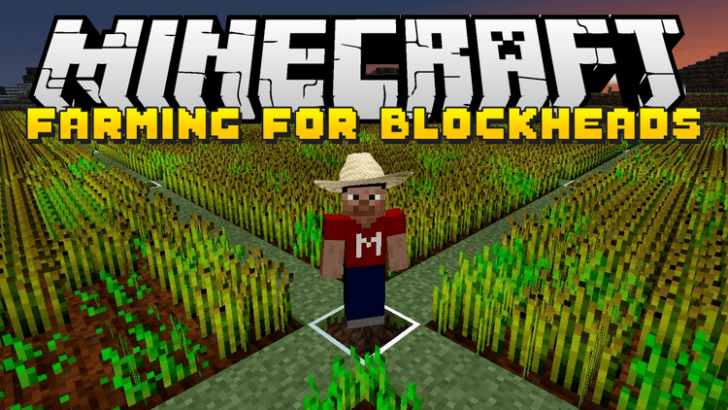 Farming for Blockheads [1.14.4] [1.12.2] [1.11.2] [1.10.2] (торговля семенами и саженцами)