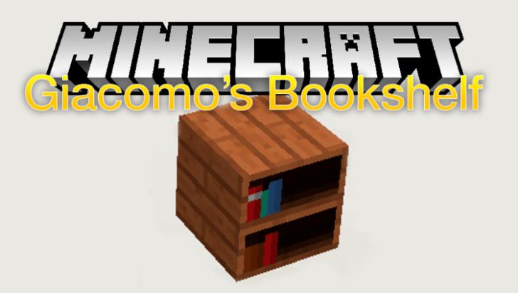 Giacomo's Bookshelf [1.12.2] [1.11.2]