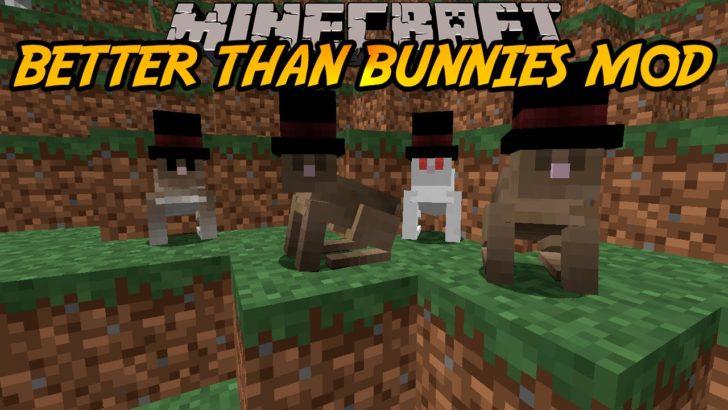 Better Than Bunnies [1.14.4] [1.12.2] [1.10.2] (кролики-аристократы)