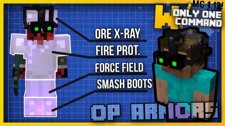 OP Armors (супер броня) [1.12.2]