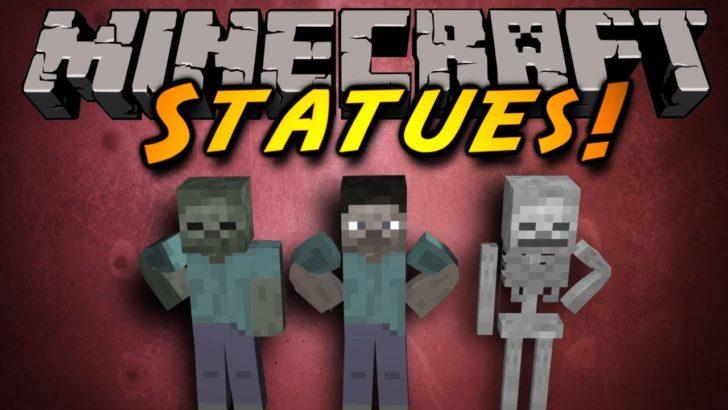 Statues - статуи мобов [1.14.4] [1.12.2] [1.11.2] [1.10.2]