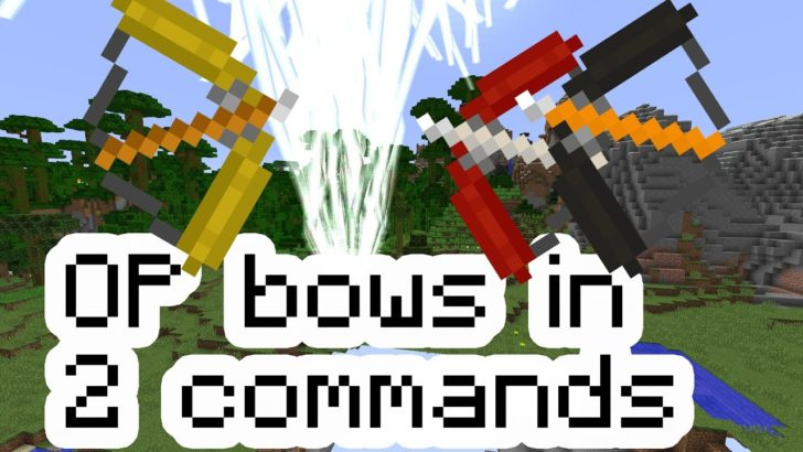 Op Bows (луки и стрелы) [1.12.2]