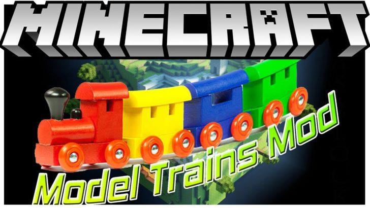 Model Trains (игрушечные поезда) [1.12.2] [1.10.2]