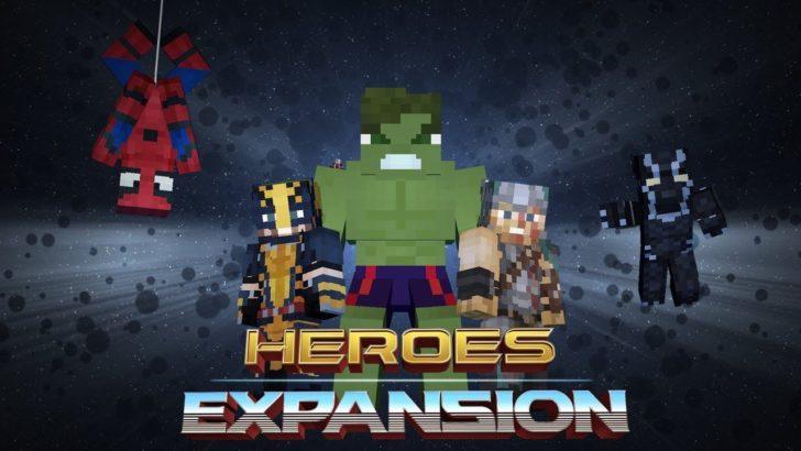 HeroesExpansion - супергерои [1.12.2] [1.10.2]