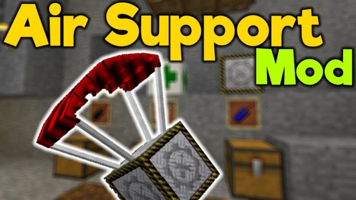 Air Support [1.12.2] [1.11.2] [1.10.2]