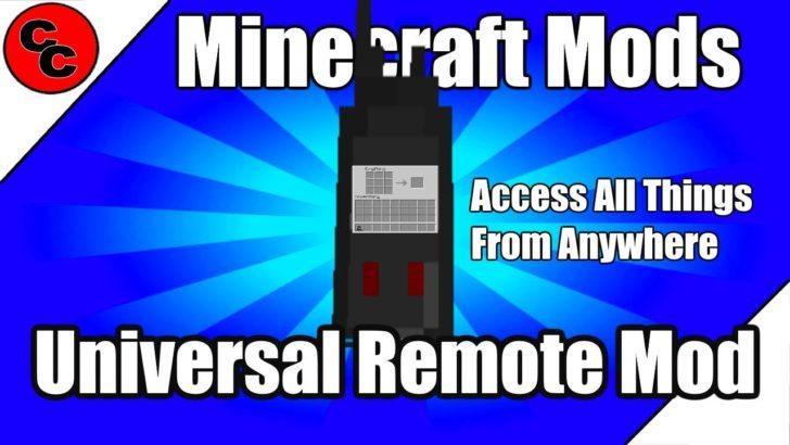 Universal Remote (универсальный пульт) [1.12.2]