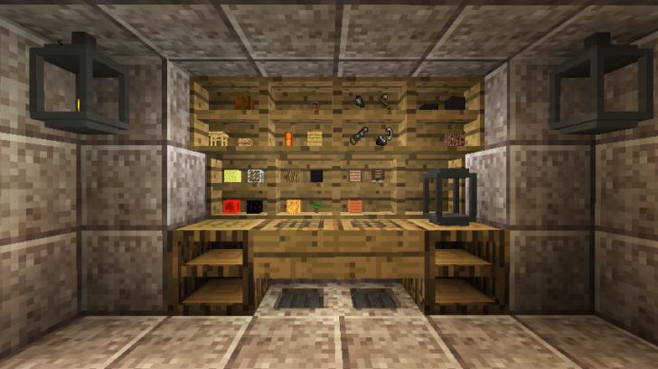 PrimalCore - блоки, инструменты и мебель [1.12.2] [1.11.2] [1.10.2]