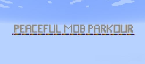 Peaceful Mob Parkour [1.12.2]