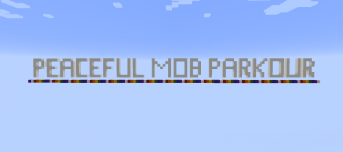 Peaceful Mob Parkour [1.12.2]