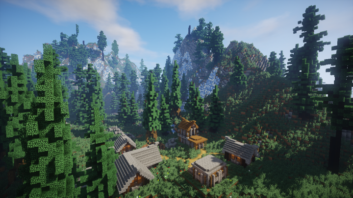 Ultimate Survival Land [1.12.2]