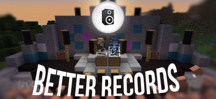 Better Records - проигрыватель музыки из интернета [1.12.2] [1.10.2] [1.9.4] [1.7.10]
