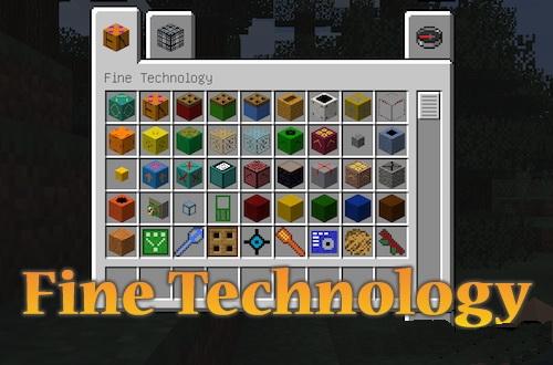Fine Technology [1.12.2]