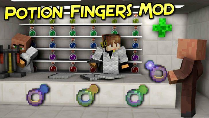Potion Fingers [1.12.2]
