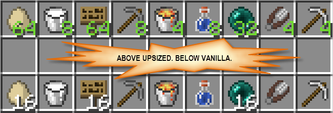 Upsizer [1.12.2] [1.11.2] [1.8.9]
