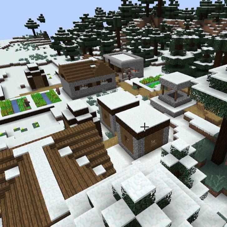 SnowVillage - деревни в снежных биомах [1.12.2] [1.11.2]