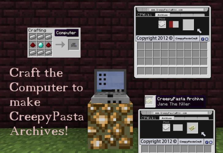 CreepyPastaCraft Revived [1.7.10] [1.6.4]