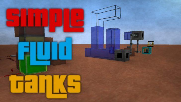 Simple Fluid Tanks [1.12.2] [1.11.2] [1.8.9] [1.7.10]