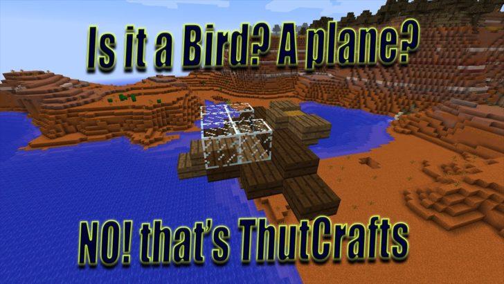 ThutCrafts - летающие корабли и самолеты [1.12.2] [1.10.2]