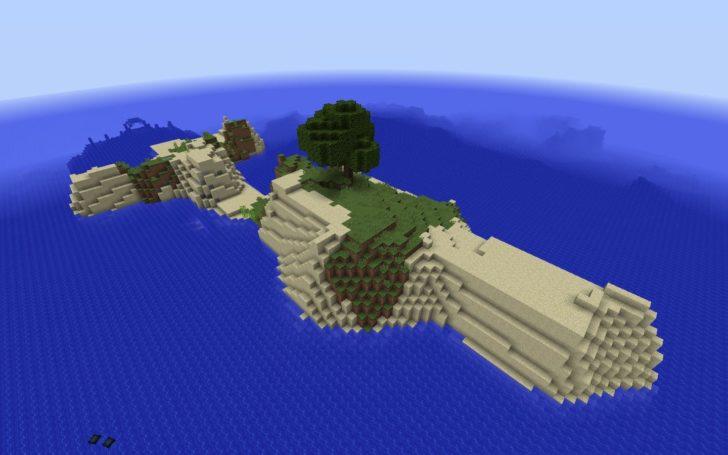 Сид на выживание - меленький остров и подводная крепость [1.12.2] [1.11.2]