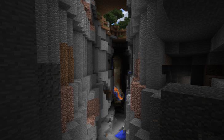Сид - Деревня и расщелина с алмазами [1.12.2]
