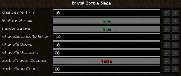 Brutal Zombie Siege [1.12.2]