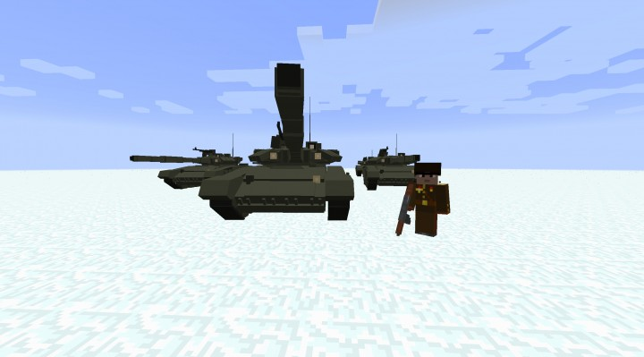 Monolith - современное оружие, танки и самолеты [1.7.10]