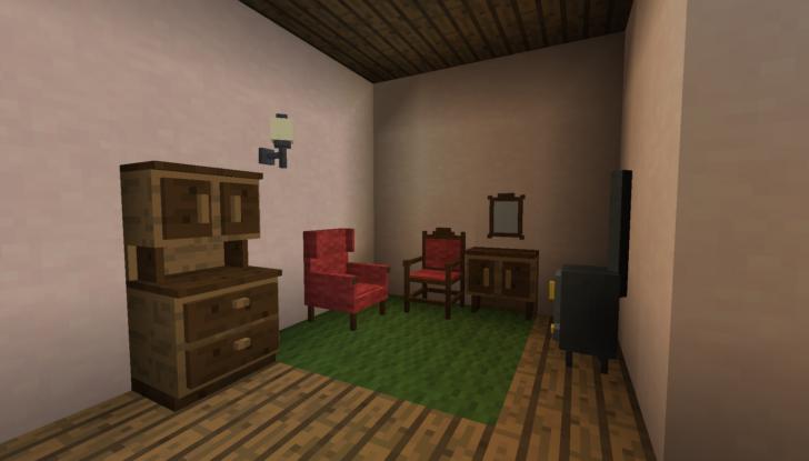 Landlust - набор античной мебели [1.12.2] [1.10.2]