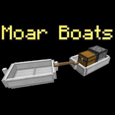 Moar Boats - лодки с автопилотом [1.12.2]