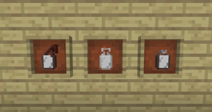 Bottled Milk - бутылочное молоко [1.12.2] [1.11.2] [1.10.2]