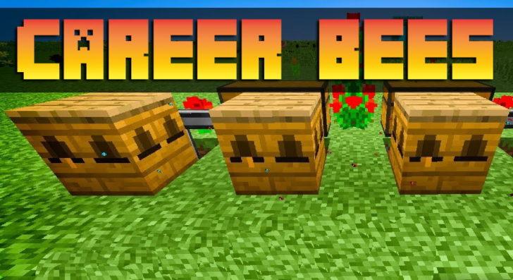 Career Bees - пчелы-помощники для Foresty [1.12.2]