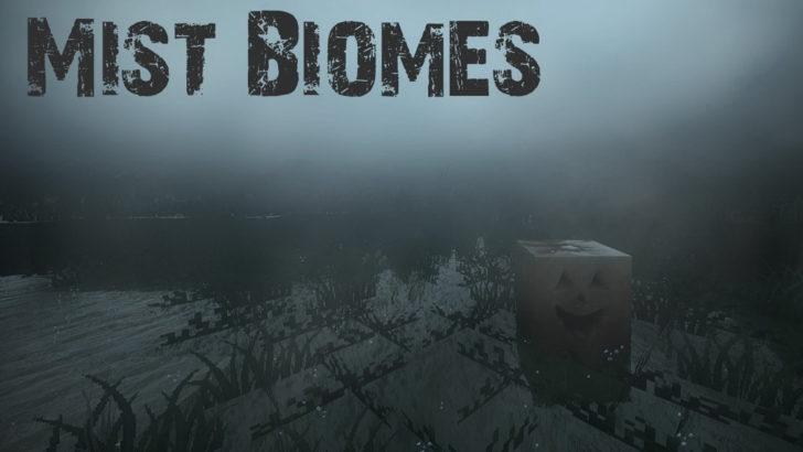 Mist Biomes - биомы с густым туманом [1.12.2]