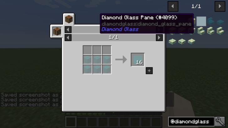 Diamond Glass [1.12.2] [1.11.2]